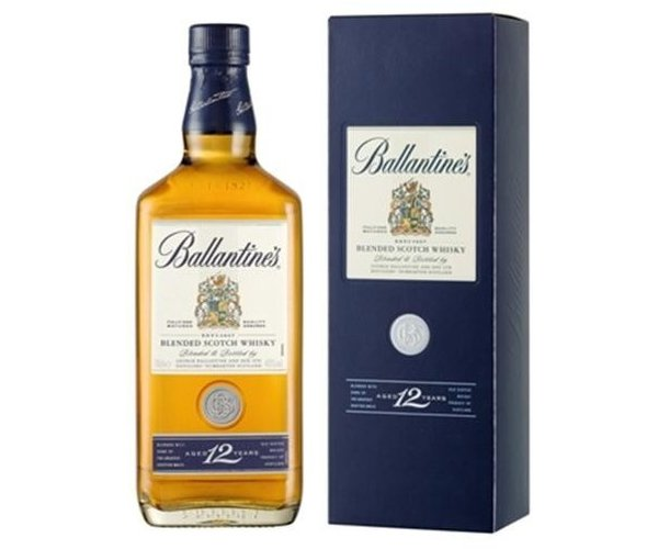 Blended Ballantines 12 Year Old Gold Seal