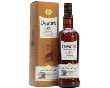 Blended Dewar's 12 Year Old