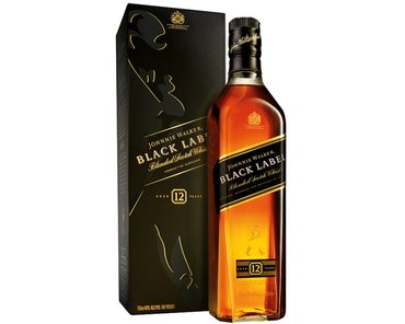 Blended Johnnie Walker Black Label